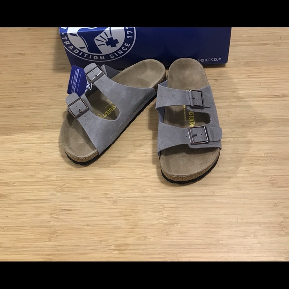 7d073e51a5e992 🔥sale 🔥Birkenstock Arizona Suede Leather Beige🌼